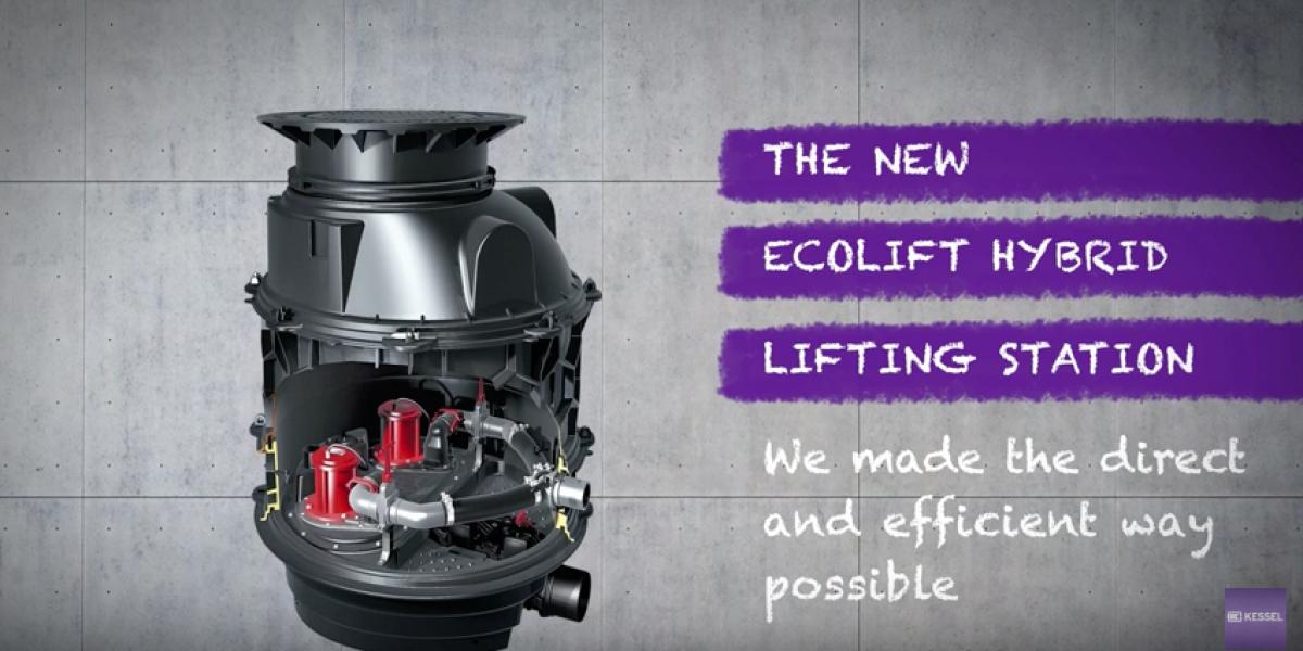 Ecolift XL hybrid lifting stations