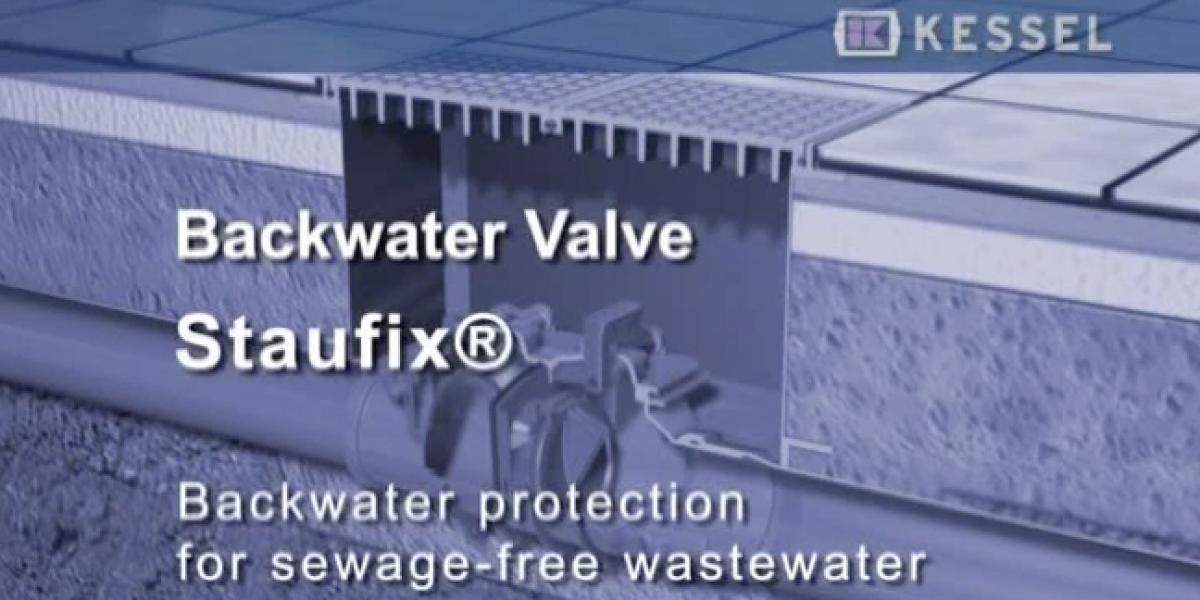 Staufix backwater valves terugstroombeveiliging